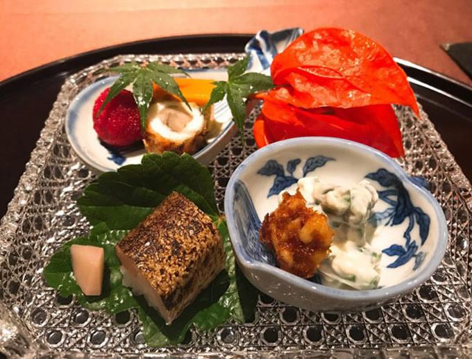 Summer dinner at Yuki!