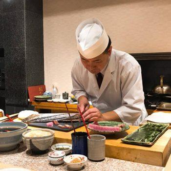 Dinner at Sushi Hirokawa