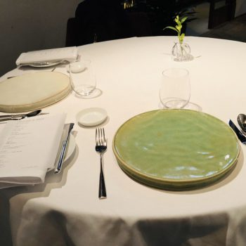 Fusion of French and Chinese Cuisine at 2 Star Michelin restaurant Motoi